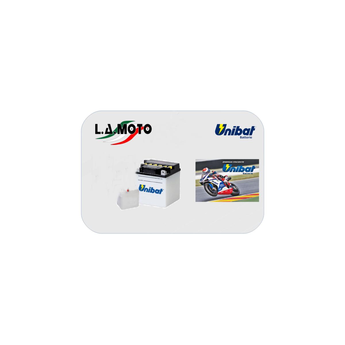 Batteria Moto UNIBAT  C60-n30l-a 30ah MotoGuzzi California III 1000 88-93