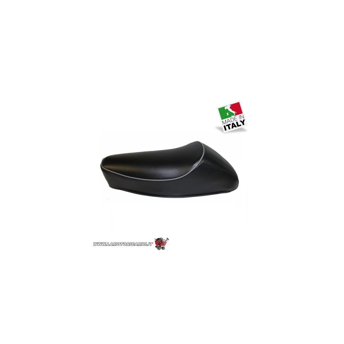 Sella nera con gobba per Vespa 50 N L R Special