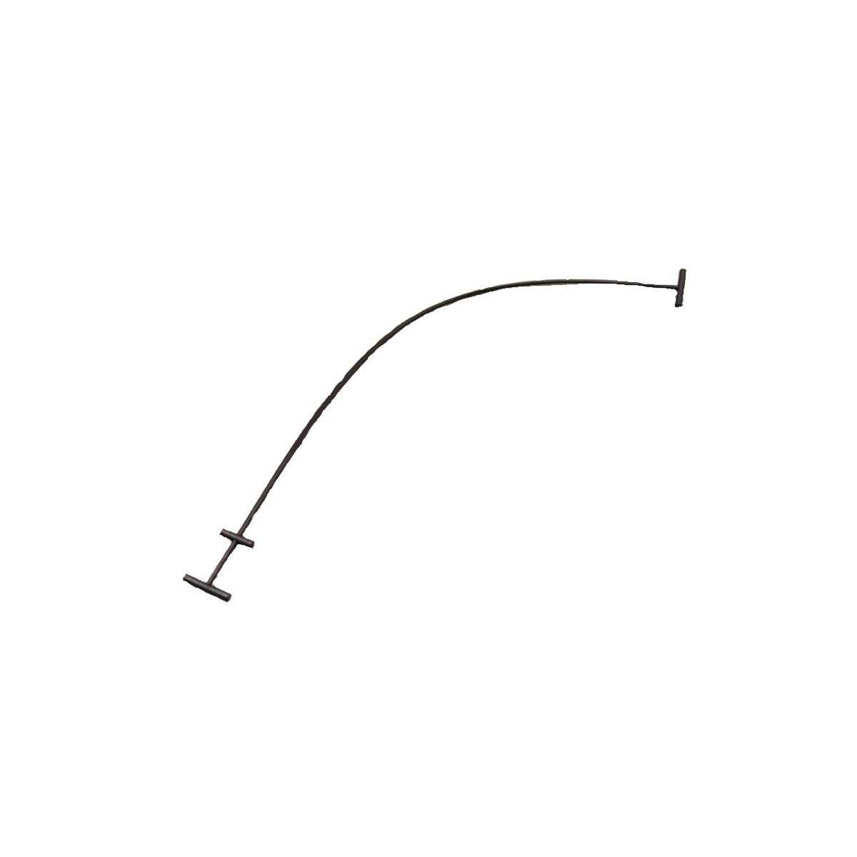 Cinghietta cavetto per sportello scocchino laterale per VESPA PK 50 125 XL S XL XL2