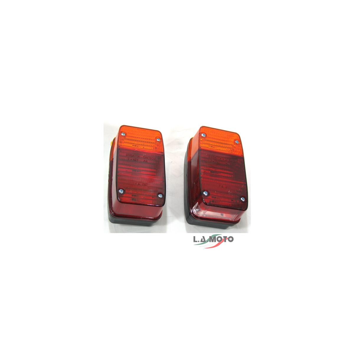 Coppia Fanali Posteriori per APE 400 R 401 501 601V MP 500 600 P2