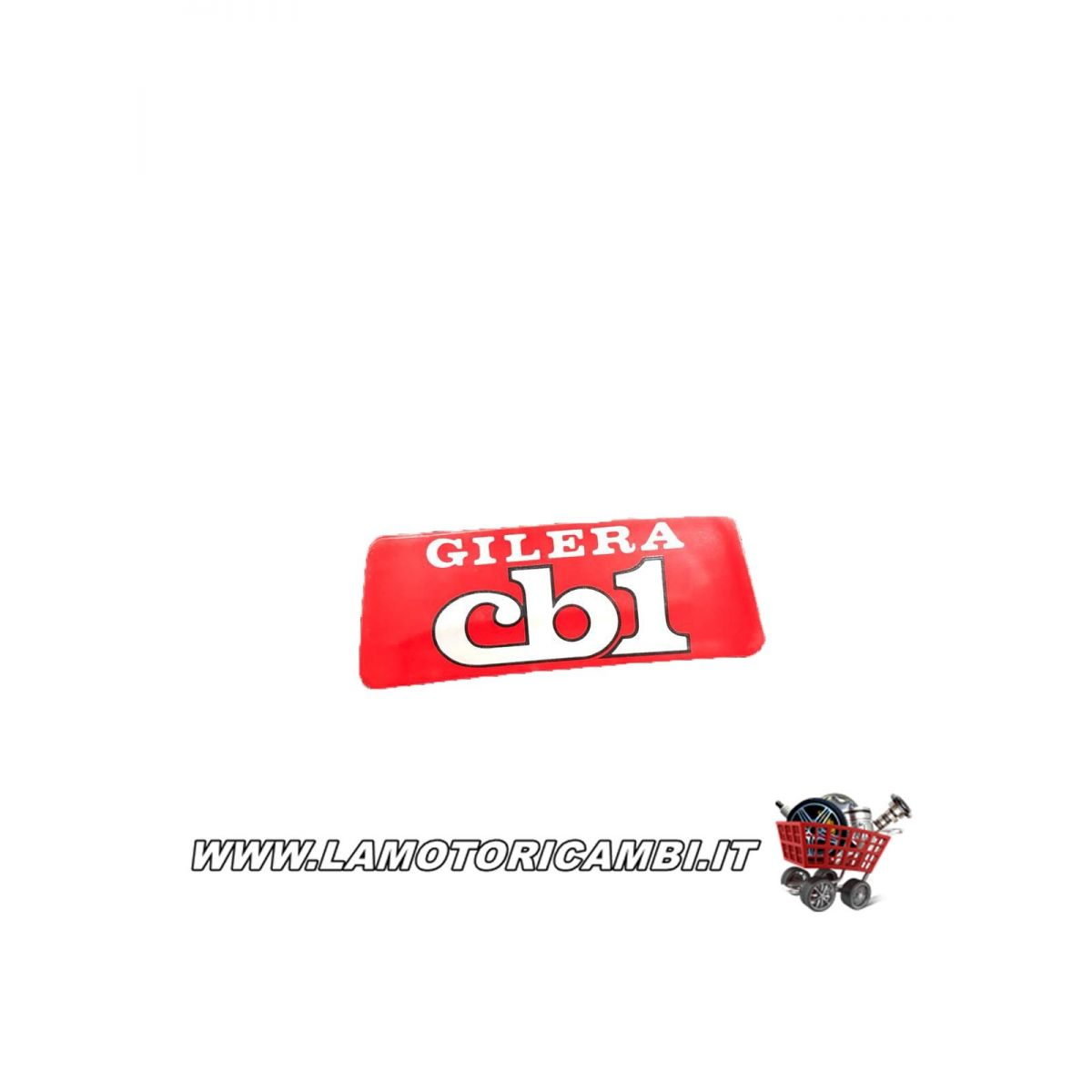 Targhetta gilera cb1 LIMITED EDITION