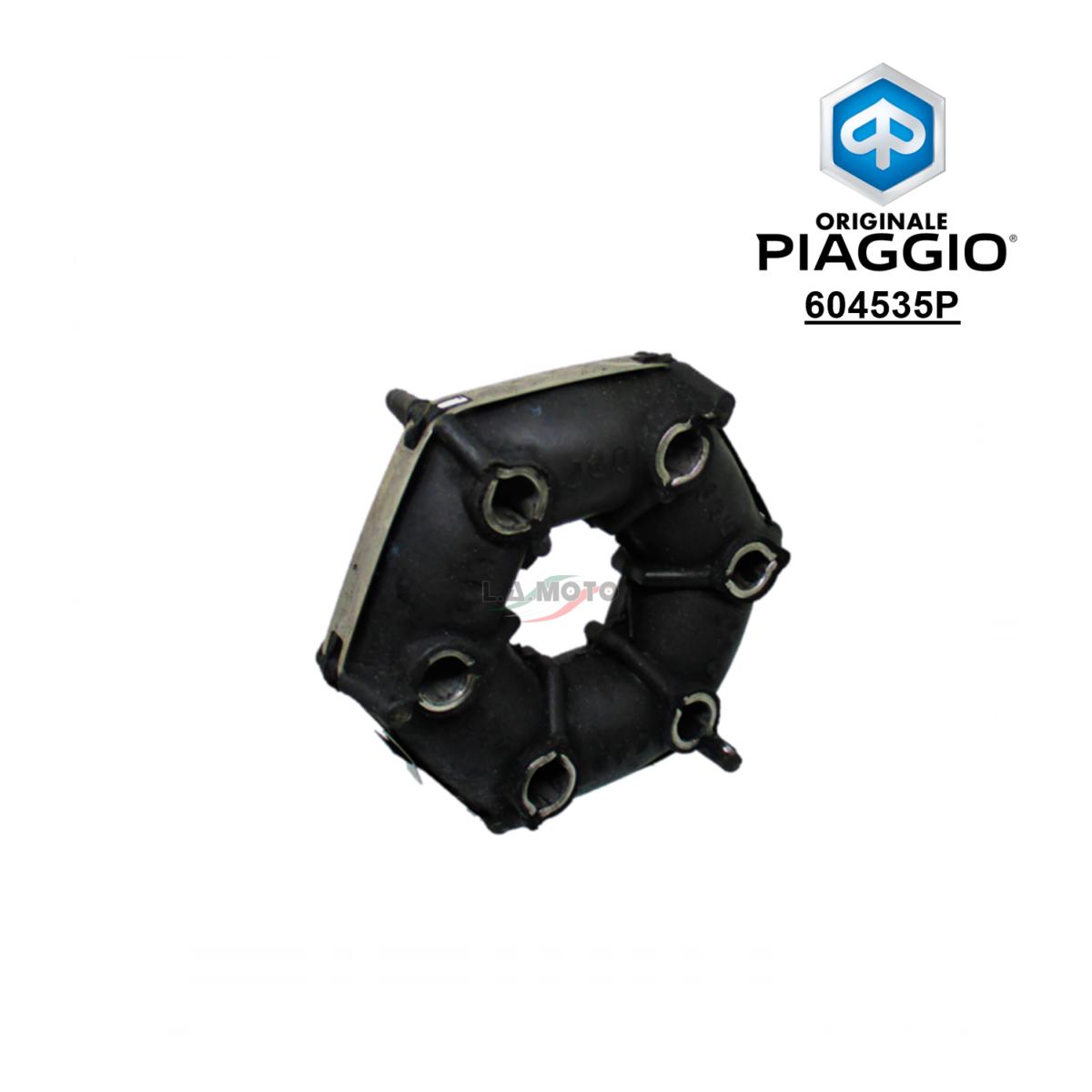 604535P-Giunto elastico trasmissione ORIGINALE Piaggio Ape MP-CALESSINO