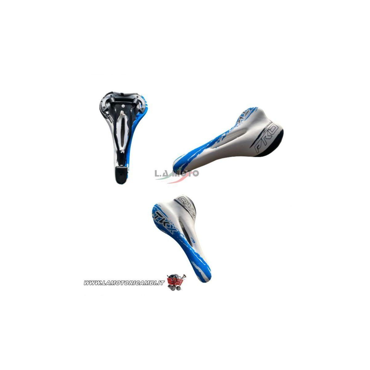 Sella Bici MTB – Mountain Bike – City Bike – E Bike Bianco / Blu / Nero TKX PRO
