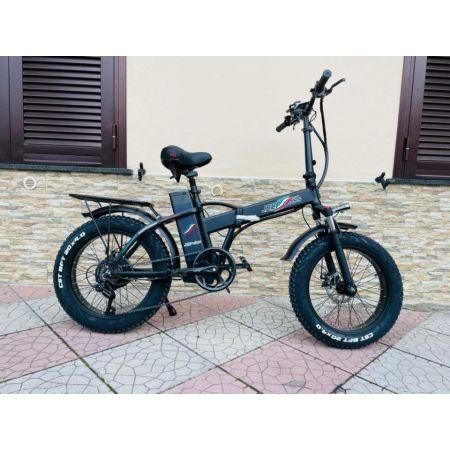 Fat Bike 750w Jeep Class E-Bike 20′ Bicicletta Bici pieghevole elettrica 48V Nero