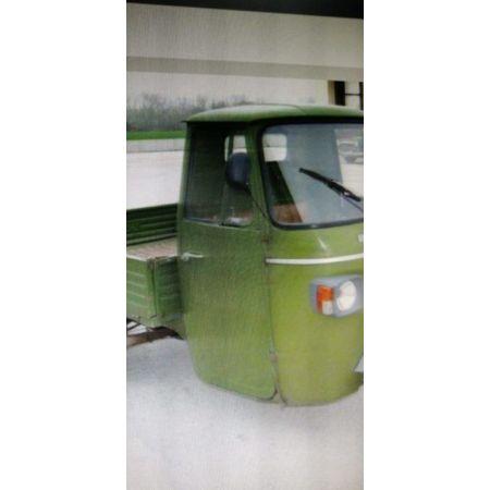 185843-Coppia Calotta supporto sostegno faro anteriore originale Piaggio Ape mp, ape car