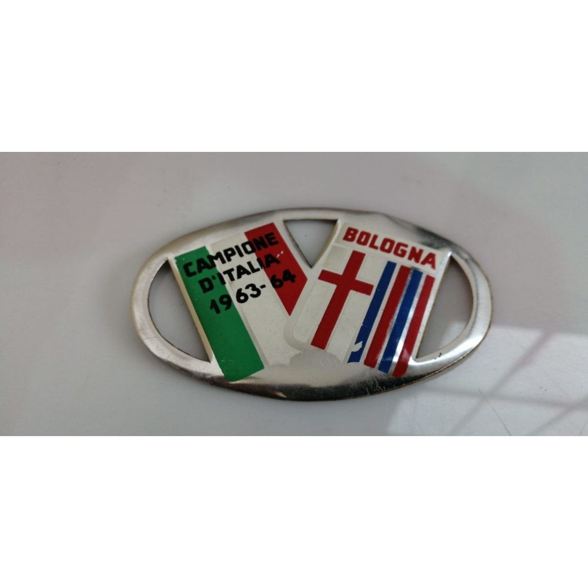 Adesivo Vintage campione d'Italia 1963-64 BOLOGNA
