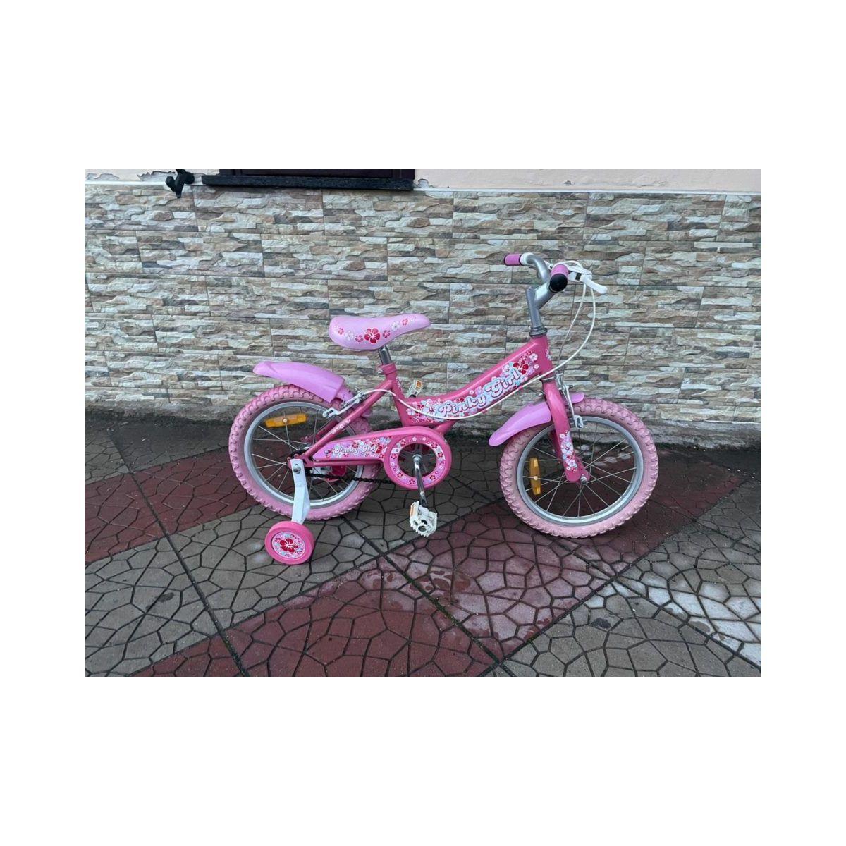 Bici bicicletta  PINKY GIRL da bambina 10