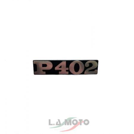 Targhetta piaggio P402  per Ape