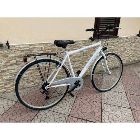 Bici Bicicletta TREKKING misura 28 bianca