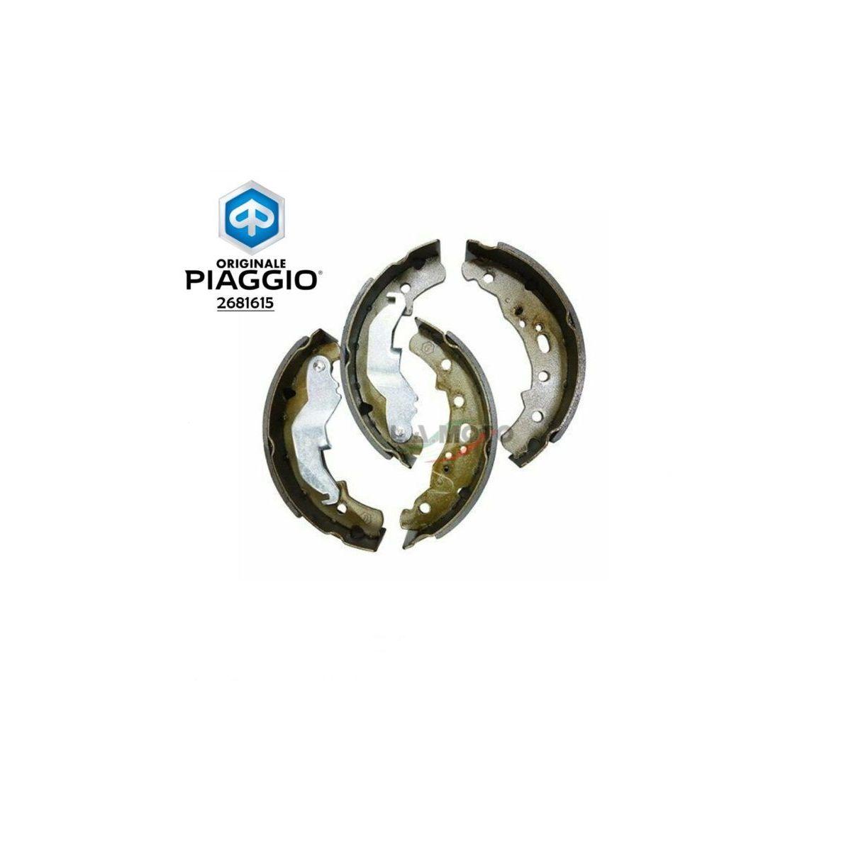 2681615 – Serie ganasce posteriori  Piaggio poker diesel benzina