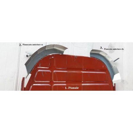 Fiancata Fiancatina angolo anteriore  sinistro  Pianale ape piaggio ape mp