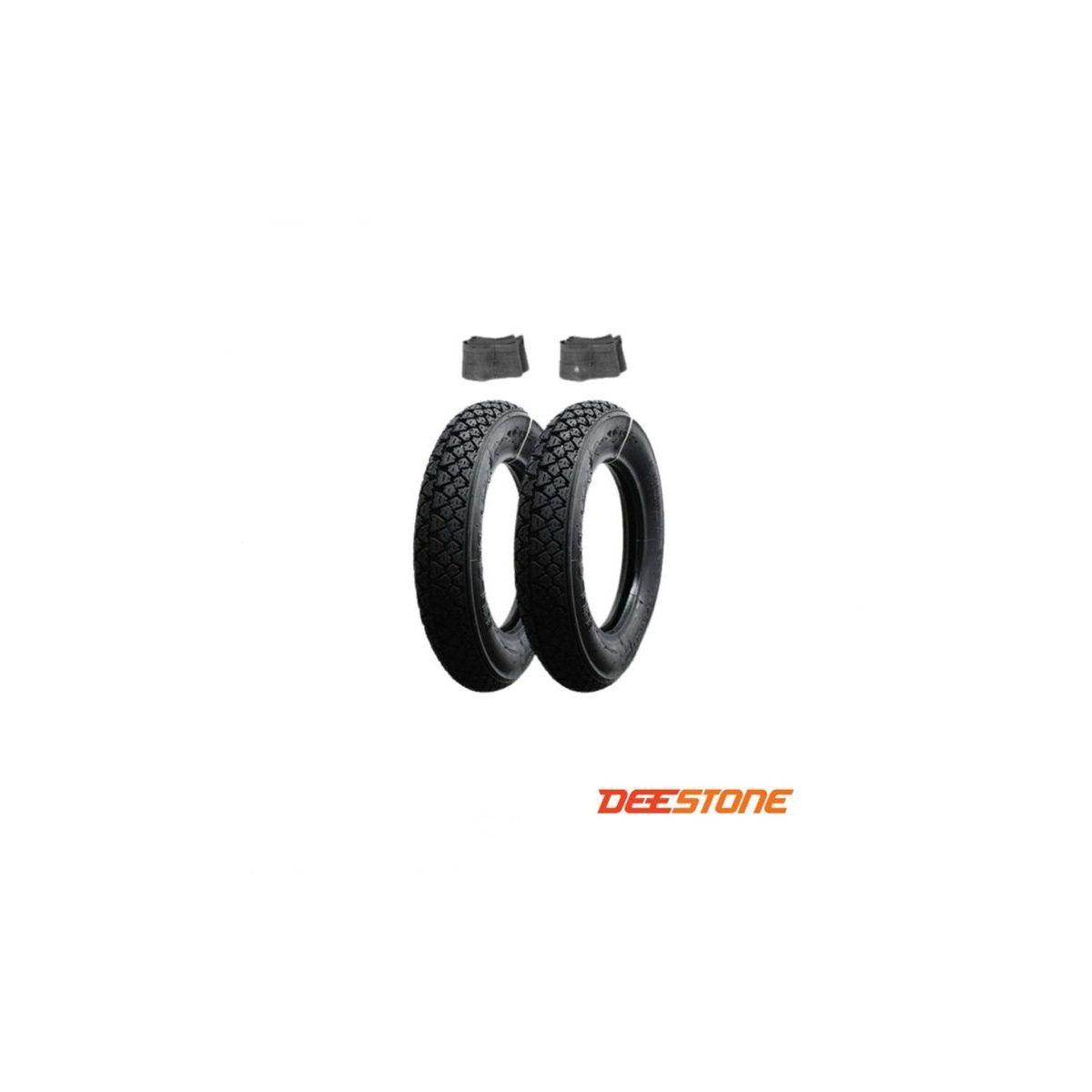 2 Pneumatici Gomme Copertoni + Camera 3 00 10 Piaggio Vespa 50 SPECIAL PK HP