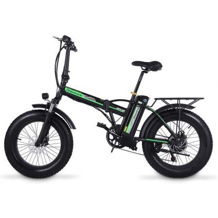 Shengmilo Bicicletta Elettrica Pieghevole Bicicletta Pieghevole da 20 Pollici Bicicletta Elettrica Pieghevole Bicicletta da Neve