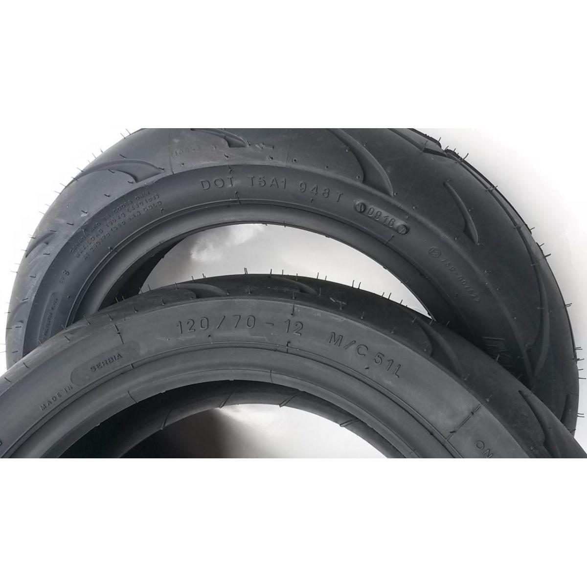 Pneumatico Michelin Bopper 120 70 12