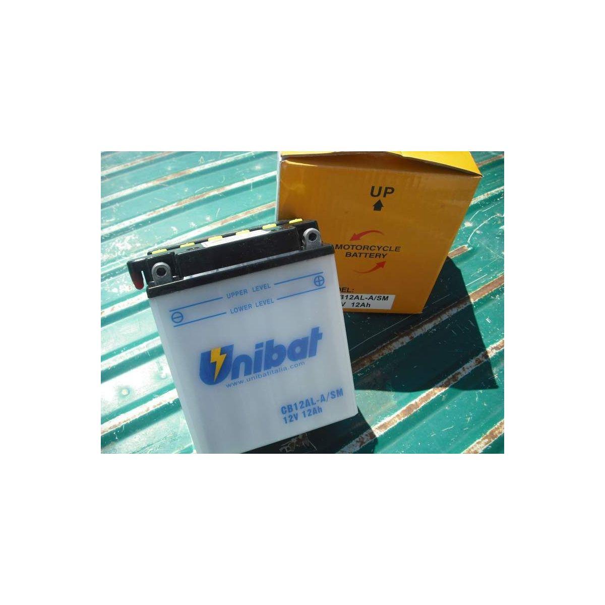 Batteria unibat CB12AL-ASM