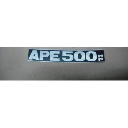 Scritta Ape MP 500