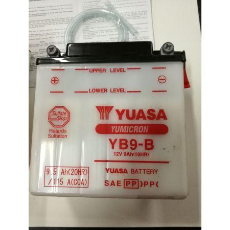 Batteria yuasa yb9-b 12v