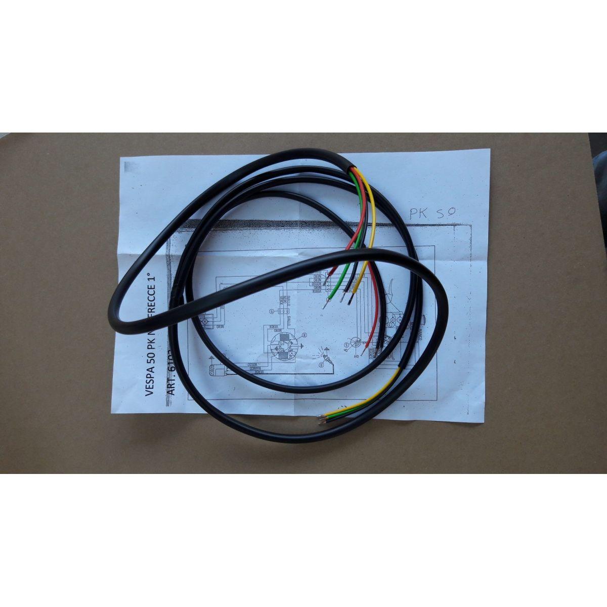 Impianto elettrico per Vespa prima serie pk – s