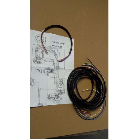 Impianto elettrico per Vespa Gs seconda serie