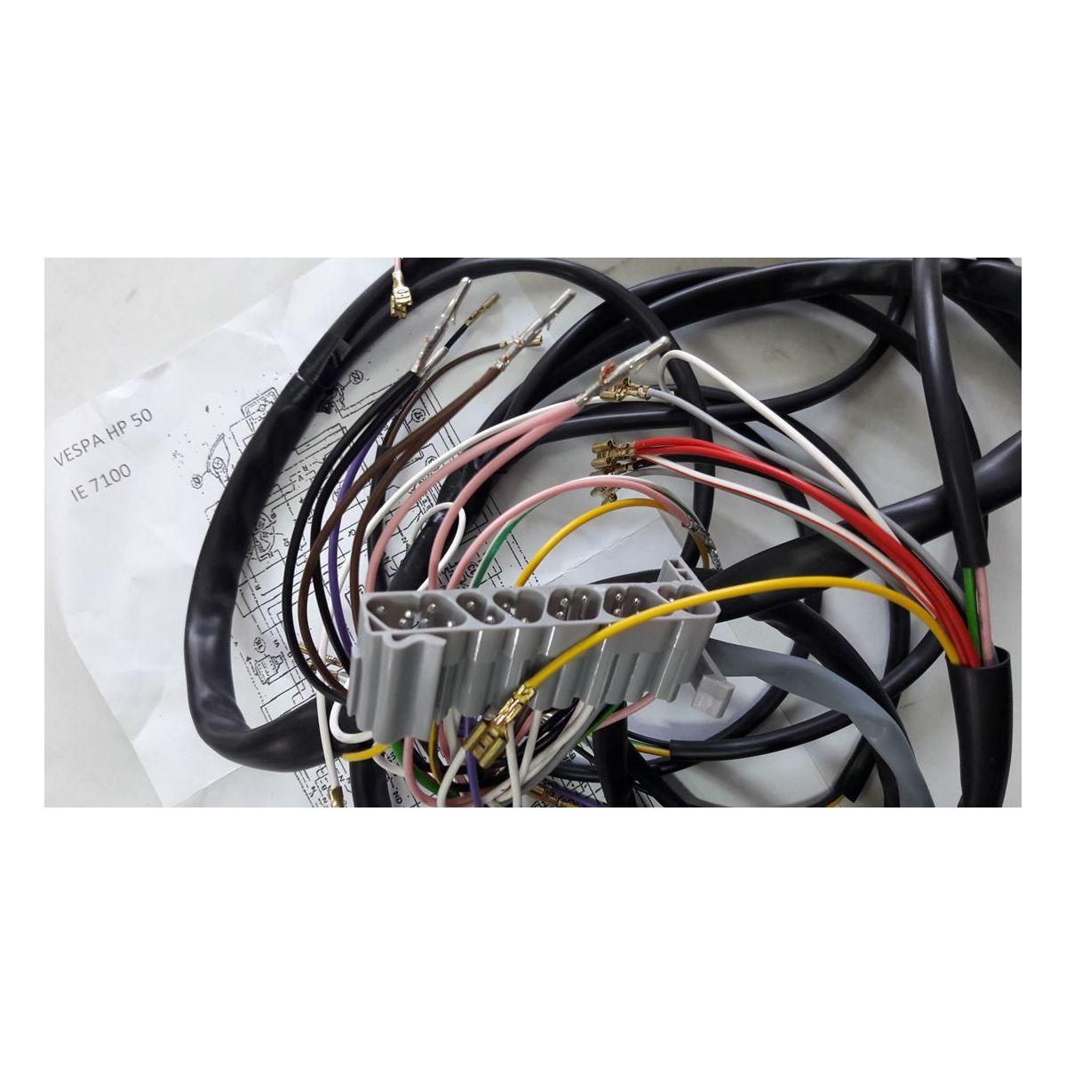 Impianto elettrico per Vespa Hp