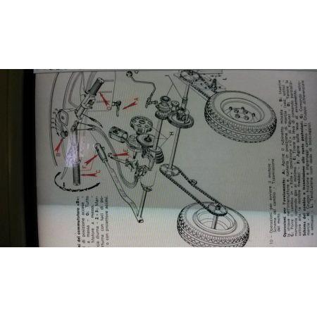Catena trasmissione Piaggio ape 175 anni 50 60