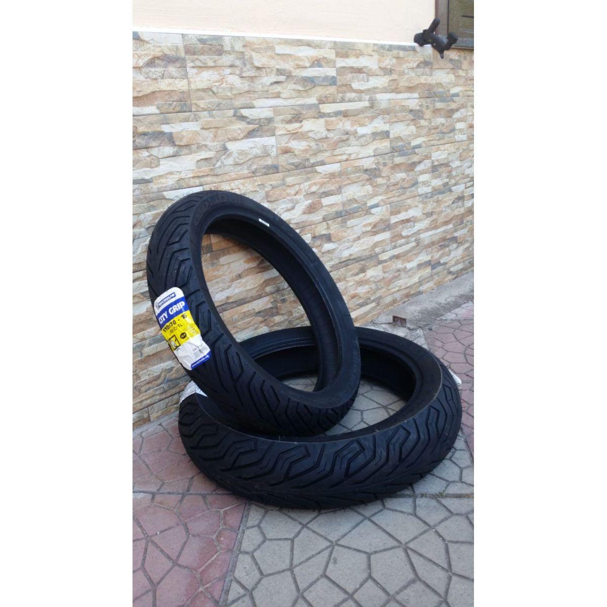 coppia pneumatici Michelin City Grip per SH 300