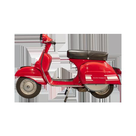 Fregi Adesivi Bianchi Scocche e Parafango per VESPA RALLY 180 200 cc.