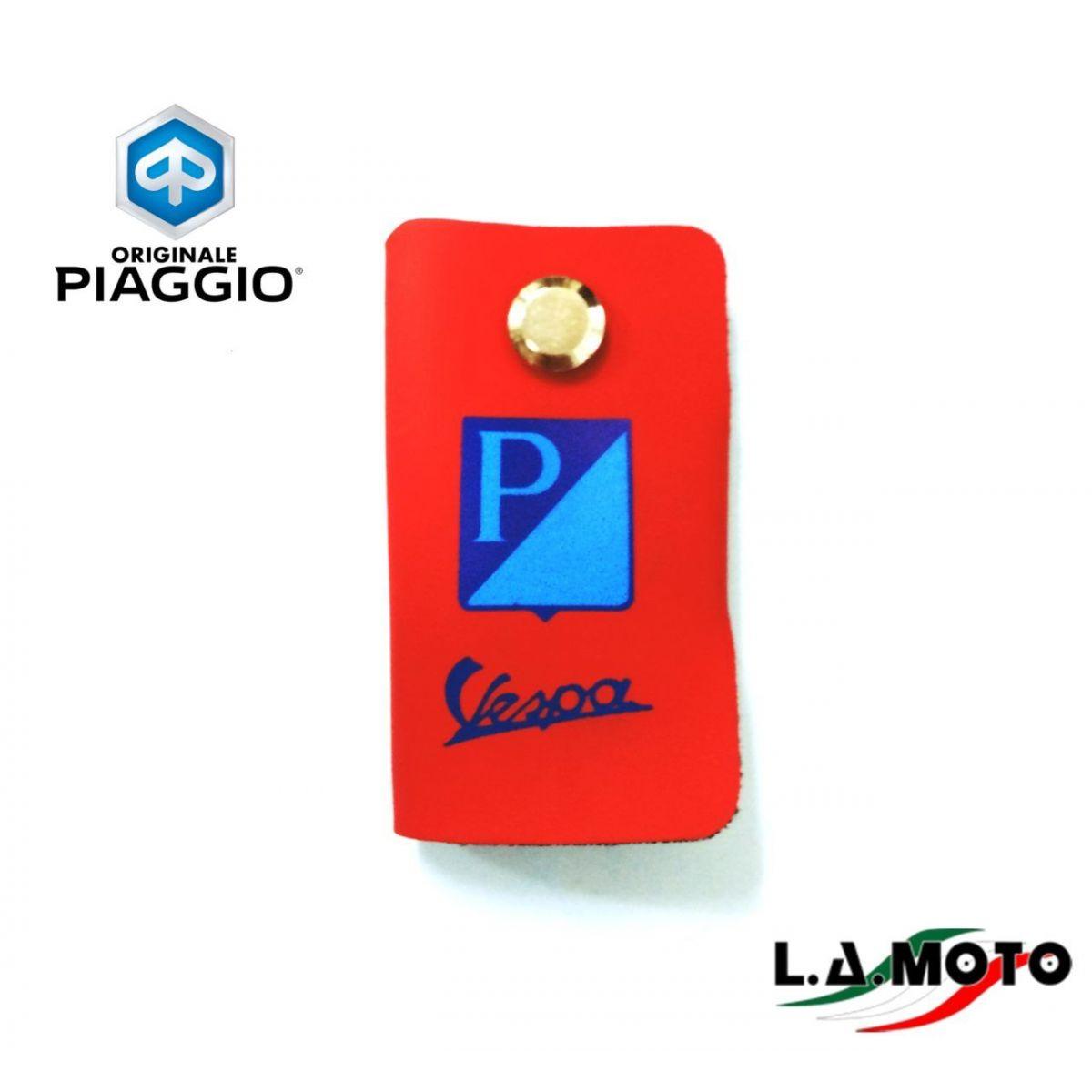 Portachiavi vintage rosso per VESPA originale PIAGGIO