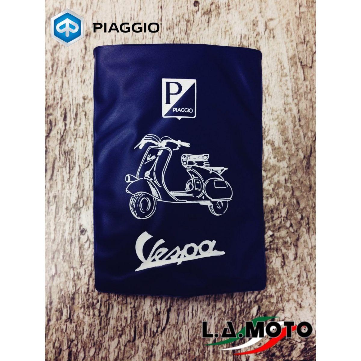 Portadocumenti per VESPA  con logo PIAGGIO originale