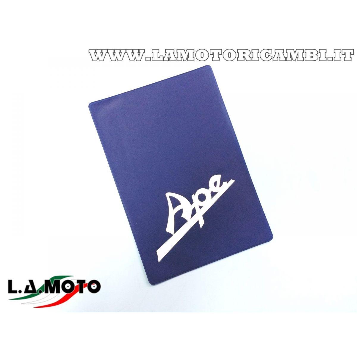 Porta documenti vintage per PIAGGIO APE MP CAR FL FL2 FL3 P MIX TM P CALESSINO A1 A11 AB AC MAX DIESEL POKER P601 P703