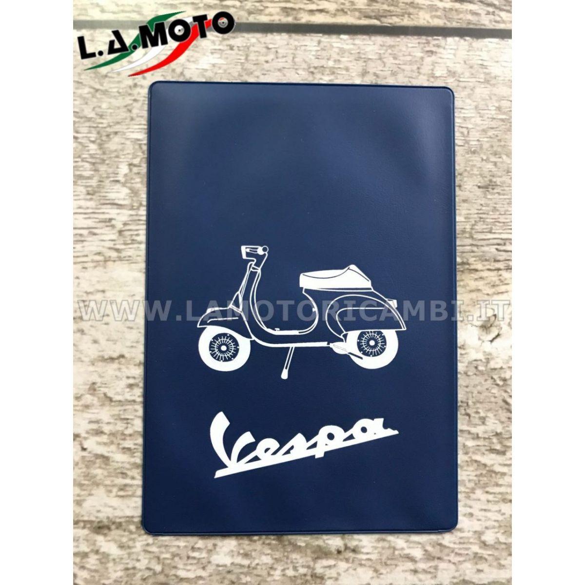 Porta documenti vintage per VESPA 50 90 125 SPECIAL ETS N L R SS S ELESTART
