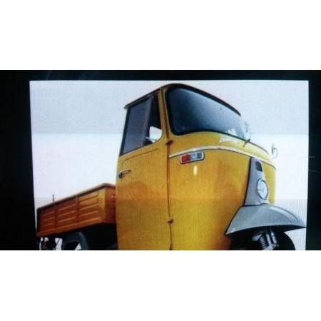 TAMPONE STAFFA POSTERIORE MOTORE : PER PIAGGIO APE MP 500-600-CAR