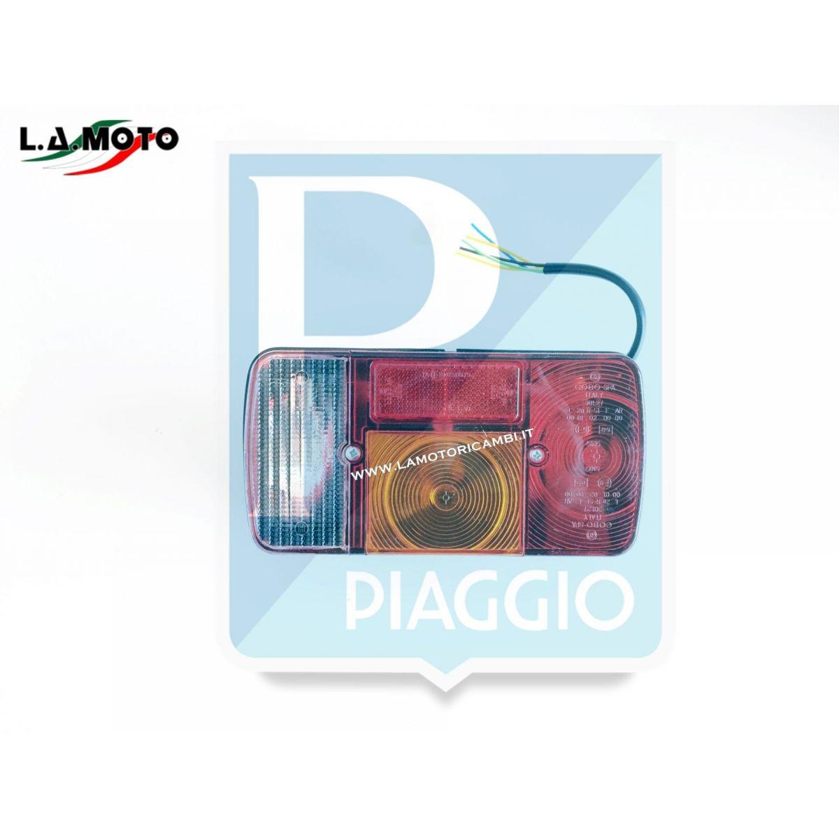 FANALE POSTERIORE COMPLETO DESTRO ORIGINALE PIAGGIO PER PIAGGIO APE TM