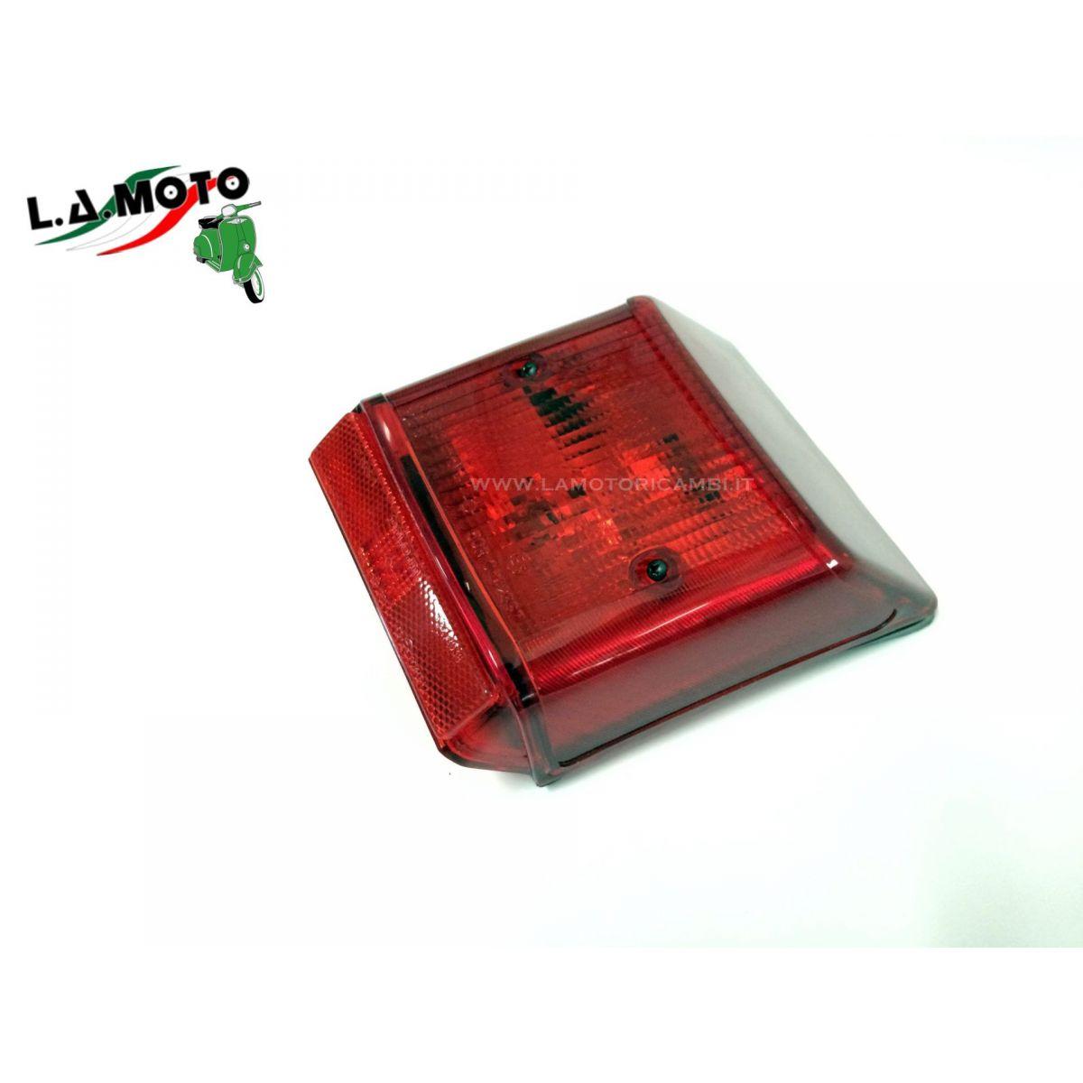FANALE POSTERIORE TRIOM COMPLETO DI LAMPADE PER VESPA PK 125 CC. PK XL