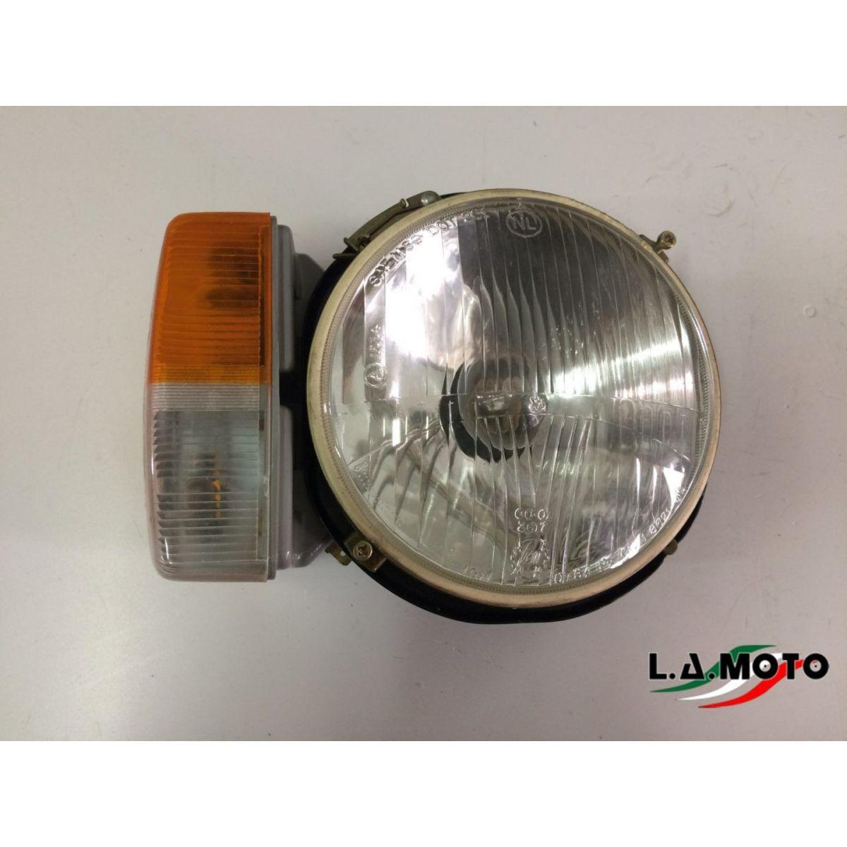 PROIETTORE FARO FANALE ANTERIORE DESTRO PER PIAGGIO APE MP P501 – P601 APE CAR P2-P3 ORIGINALE PIAGGIO 254891
